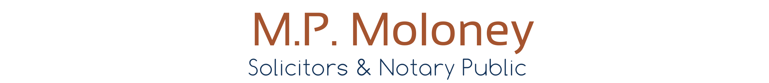 M.P Moloney Solicitors & Notary Public